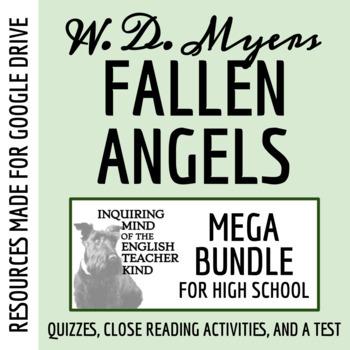 Fallen Angels by Walter Dean Myers - Assessment Bundle (3