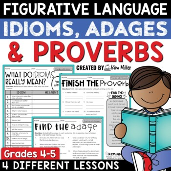 Falling For Expressions: Idioms, Proverbs & Adages-L.4.5b, L.5.5b
