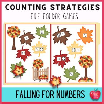 Falling For Numbers and Counting Strategies File Folder Kit