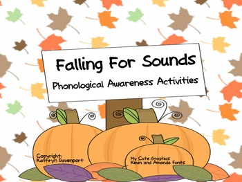 Falling For Sounds- Phonological Awareness Activities