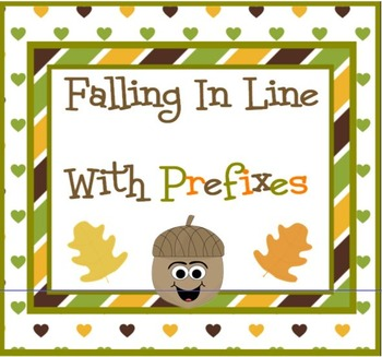Falling In Line With PREFIXES