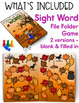 Fall Word Work, Reading, Writing and a Craft - Falling Int