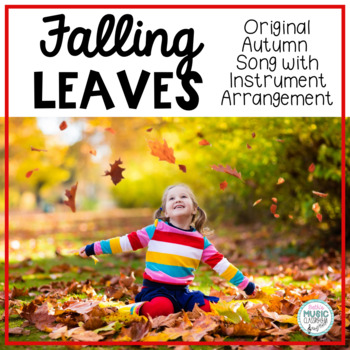 Falling Leaves - Autumn Song with Orff Arrangement, Ostinatos