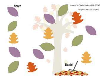 Falling Leaves Board Game
