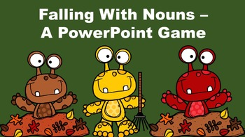 Falling With Nouns - A PowerPoint Game