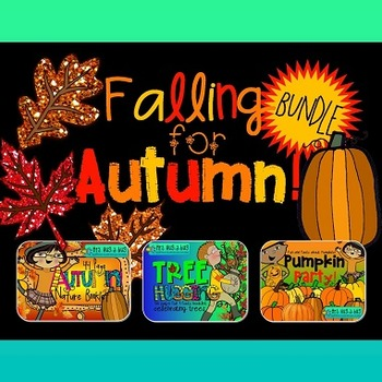 Falling for Autumn BUNDLE!  {Nature booklet, tree hugging