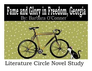 Fame and Glory in Freedom, Georgia by Barbara O'Conner Lit