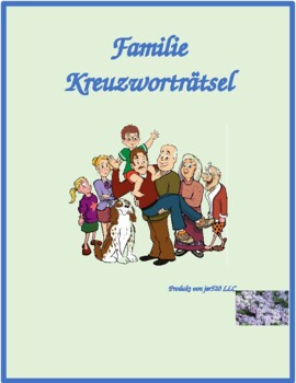 Familie (Family in German) Crossword puzzle