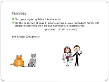 Families Powerpoint and Assessment