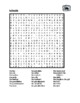 Famille (Family in French) Wordsearch for differentiated i