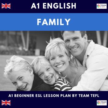 Family A1 Beginner Lesson Plan For ESL