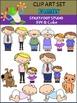 Family Clip Art Set