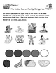 Family - Curriculum‐Based Language Enrichment Worksheets &