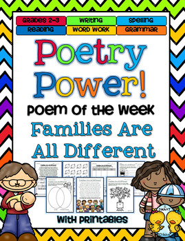 Family Day Poetry Power! Daily Literacy Practice