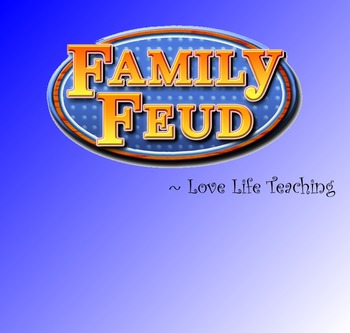 Family Feud Classroom Game - SMART Notebook Template (Simp