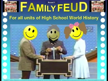Family Feud! fun World History review game: Cold War (1960