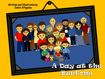 Thanksgiving Family Story! A Day at the Burtons - Digital