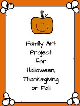 Family Halloween Art