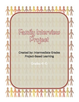 Family Interview Project- Grade 4-6