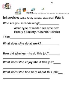 Family Job Interview