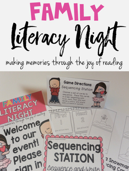 Family Literacy Night K-3 School Wide Event