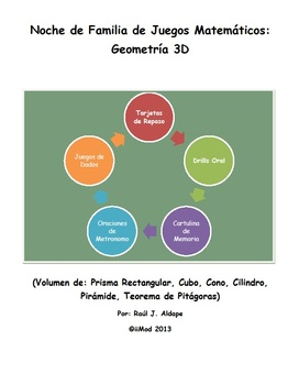 Noche de Familia de Juegos Matematicos (Geometria 3D)