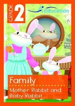 Family - Mother Rabbit and Baby Rabbit - Grade 2