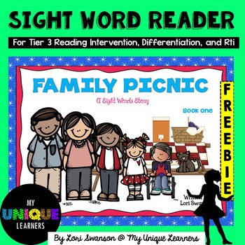 Family Picnic- Dolch Sight Word Reader