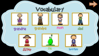 Family NO PREP Lesson with INTERACTIVE LANGUAGE GAMES
