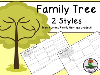 Family Tree - 2 versions
