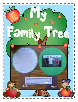 Family Tree Back to School Take Home Activity