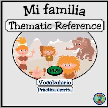 Family Tree Graphic Organizer / Mi árbol de familia imaginaria