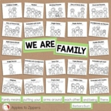 Family Types Bulletin Board Kit