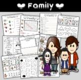 Family Worksheets for Beginners