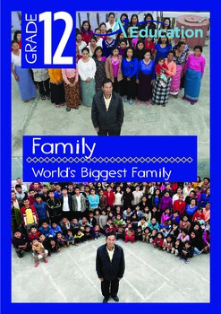 Family - World's Biggest Family - Grade 12