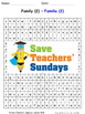 Family in Spanish Worksheets, Games, Activities and Flash
