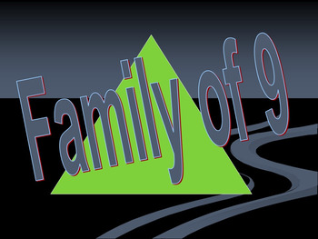 Family of 9 Math Facts