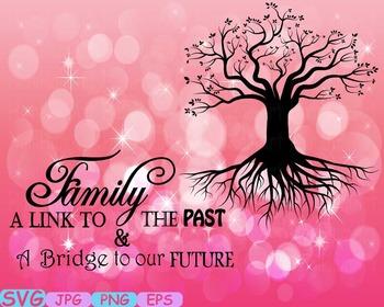 Family tree Word Art Branche SVG clip art past Tree Deep R