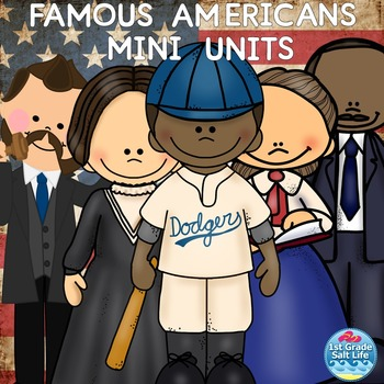 Famous Americans ( George Washington Carver, Martin Luther