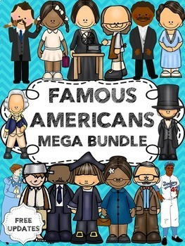 Famous Americans Bundle (including Ben Franklin, George Wa