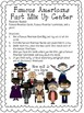 Famous Americans Activity Pack for 3rd Grade GPS *Discounted!*