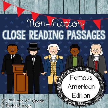 Close Reading: Famous Americans