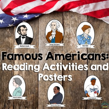 Famous Americans: Reading Activities and Posters