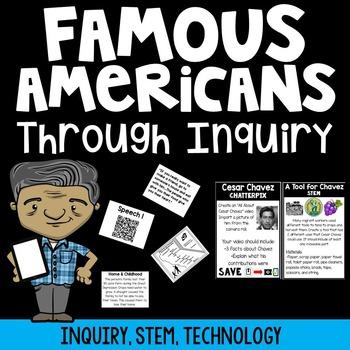 Famous Americans through Inquiry {Cesar Chavez}