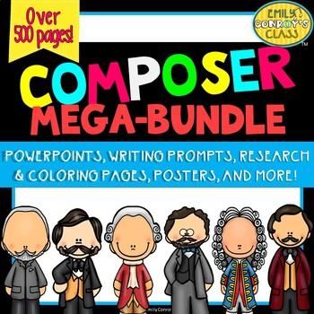 Famous Composers MEGA-BUNDLE