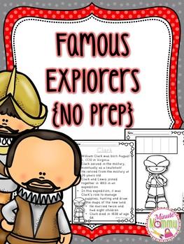 Famous Explorers {No PREP}