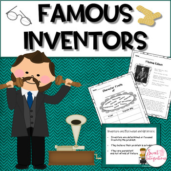 FAMOUS INVENTORS - Biographies and Inventions With Reading