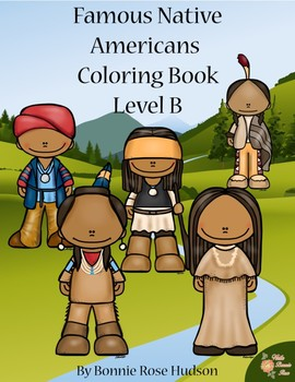 Famous Native Americans Coloring Book