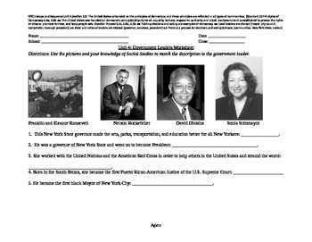 Famous New York Leaders