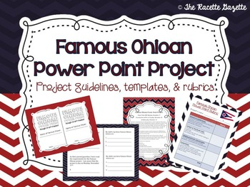 Famous Ohioan Power Point Project
